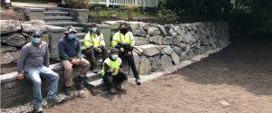 Seattle Rockeries construction crew
