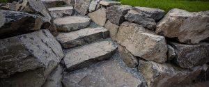 Hardscape Stone Steps