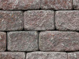 Mutual Materials Roman Stack block wall